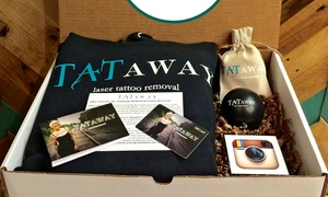 $199 For A Tattoo-removal Gift Package From Tataway ($400 Value)