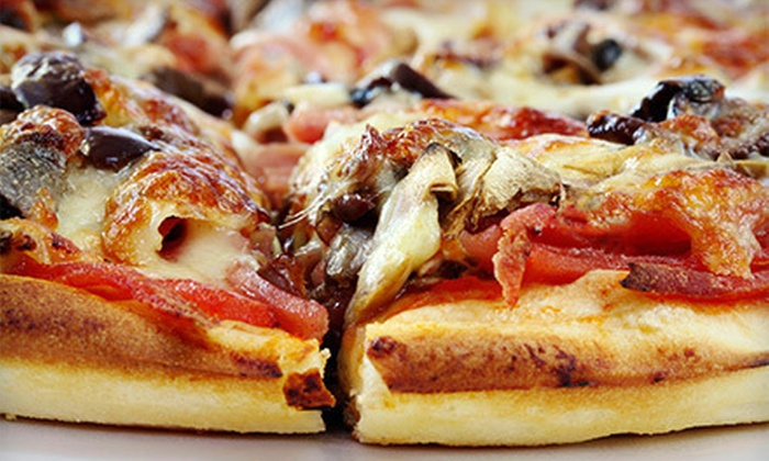 Pizzarelli's Pizza - Ellisville: Pizza, Wings, and Salad Package or $10 for $20 Worth of Pizzeria Food at Pizzarelli's Pizza