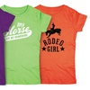 Kidteez Girls' Equestrian Themed T-Shirt