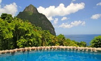 4-Star St. Lucia Villas amid Lush Rainforest