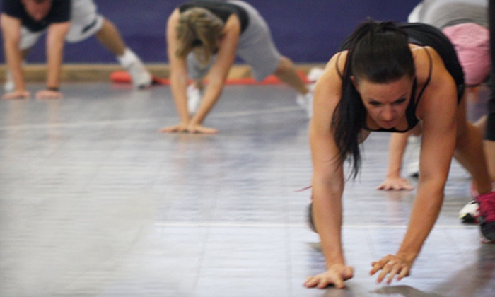 Team[Fit] - Multiple Locations: 10 or 20 Boot-Camp Classes at Team[Fit] (Up to 82% Off)