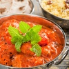 Indian Meal with Rice or Naan