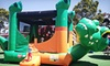 Inflatable World - Mission Valley: One Month of Unlimited Play for One, Two, or Four Children at Inflatable World (Up to 59% Off)