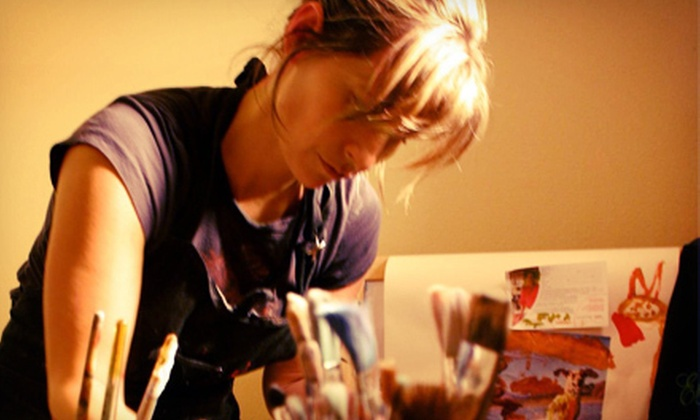 Elida Art Studio & Gallery - Camas: Women's BYOB Painting Class for One or Two at Elida Art Studio & Gallery (55% Off)
