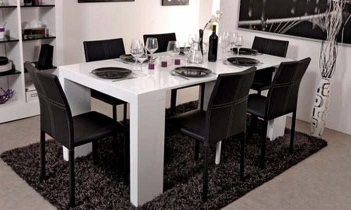 console extensible design creadomia. Black Bedroom Furniture Sets. Home Design Ideas