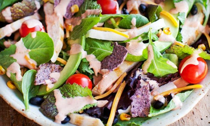 San Francisco Soup Company - Multiple Locations: $5 for $10 Worth of Organic Salads, Soup, and Sandwiches at San Francisco Soup Company