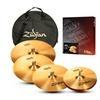 Zildjian ZBT 5-Piece Cymbal Pack with Cymbal Bag