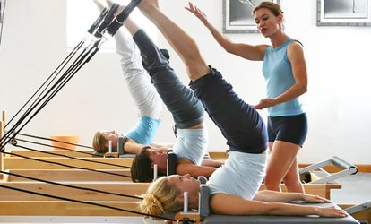 5 Small-Group <strong>Pilates</strong> Sessions or 3 Private Sessions at Bodyline <strong>Pilates</strong> Studio (Up to 72% Off)