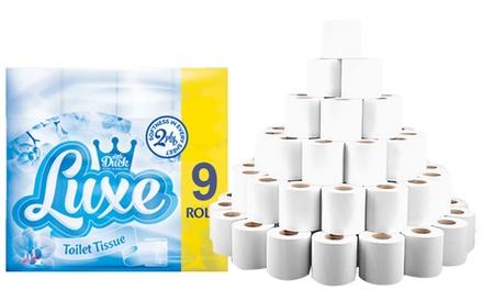45, 90 or 135 Luxe Toilet Paper Rolls