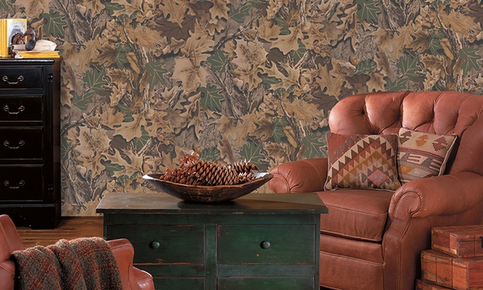 RealTree Wallpaper and Borders Groupon Goods