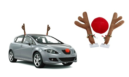 Reindeer Car Accessory Set (3-Piece)