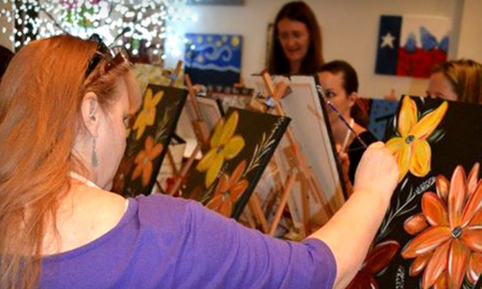 The Paint Pub - Nassau Bay: $15 Toward Painting Classes with Wine