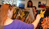The Paint Pub - OOB - Nassau Bay: $15 Toward Painting Classes with Wine