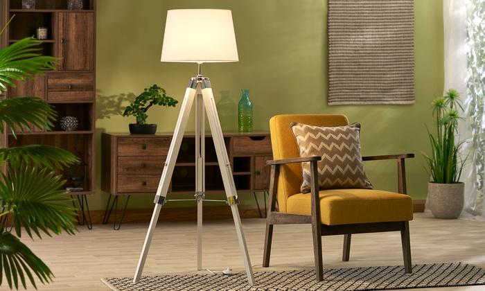 Zennox Tripod Floor Lamp With Groupon