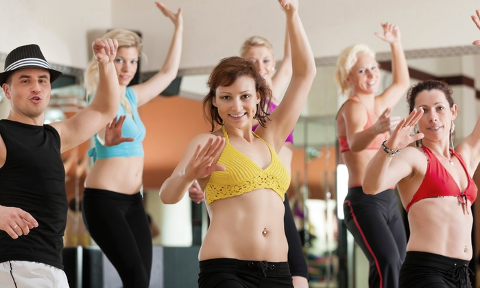 Brand Fitness - Anniedale-Tynehead: 10 or 20 Zumba or Pound Fitness Classes at Brand Fitness (Up to 75% Off)