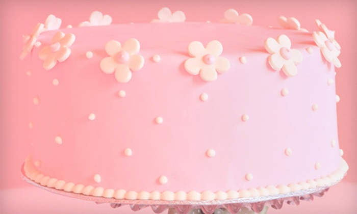 Baby Cakes by Marcy - Kern Place: $15 for an 8-Inch Cake with Custom Batter and Filling from Baby Cakes by Marcy ($37 Value)