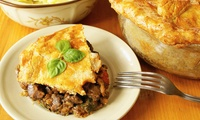 Pie with Choice of Sides for Two or Four at The Ferry Inn