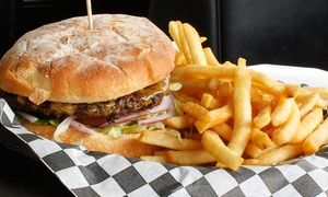 Tickets Sports Cafe: American Grill Fare at Tickets Sports Cafe (45% Off).