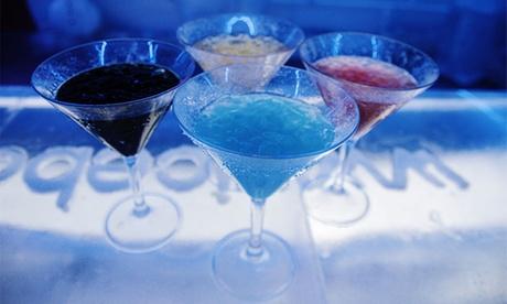 Entrada para 2 o 4 con cócteles o degustación de 4 vodkas desde 19,95 € en Ice Bar Madrid