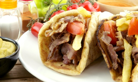 $15 for $30 Worth of Mediterranean Food at Habibi's Gyros and Kabob House