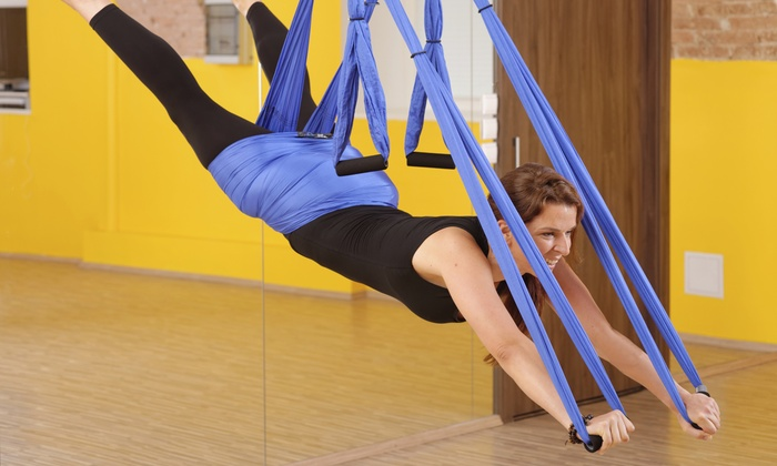 Swing! LLC - South St. Paul: Four or Eight Aerial-Fitness Classes at Swing! LLC (Up to 54% Off)