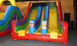 Up to 40% Off a Bounce-House Package at Jungle George's, plus 6.0% Cash Back from Ebates.