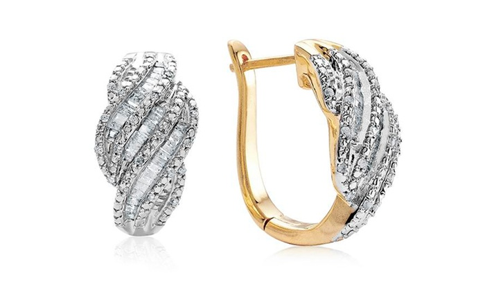 1.00 ct.tw. Diamond Earrings: One Pair of 1 ct.tw. Diamond Fashion Earrings. Multiple Designs Available. Free Returns.