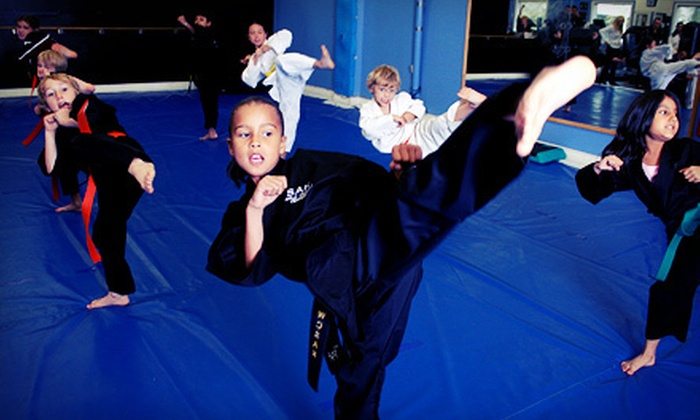 Steve Anderson Karate - Ledbury - Heron Gate - Ridgemont - Elmwood: One Month of Karate Classes, or Two or Three Months of Karate with Uniform at Steve Anderson Karate (Up to 88% Off)