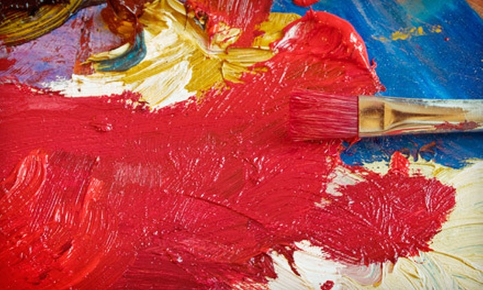 Paint With Lu - South Scottsdale: Full-Day Painting Workshop for One, Two, or Three at Paint With Lu (Up to 56% Off)