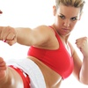 Up to 66% Off Women's Muay Thai or Kickboxing Classes