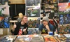 Fanboy Expo - Northwest Tampa: Two-Day Fanboy Expo Visit with Autographed Prints for Two or Four (Up to 81% Off)