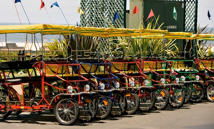Boat or Bike Rentals at Wheel Fun Rentals (50% Off)