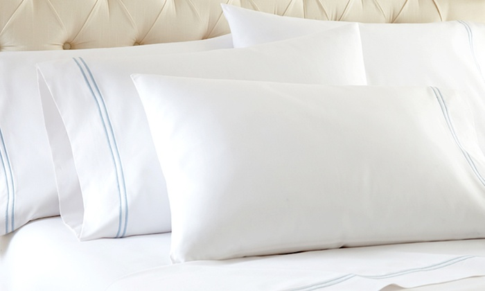 Six-Piece 1,000 Thread Count Sheet Set: Six-Piece 1,000 Thread Count Sheet Set. Multiple Styles Available. Free Shipping and Returns.