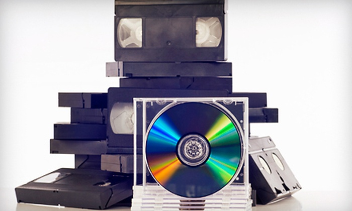 Concept One Media - Downers Grove: VHS-to-DVD Conversion at Concept One Media in Downers Grove (Up to 60% Off). Two Options Available.