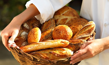 Fresh Baked Goods, Wine, Olive Oil, and More at The Breadery (Up to 40% Off). Two Options Available.
