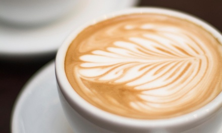 $11 for 4 Groupons, Each Good for a $5 Credit at Skybound Coffee + Dessert Lounge (Up to $20 Total Value)