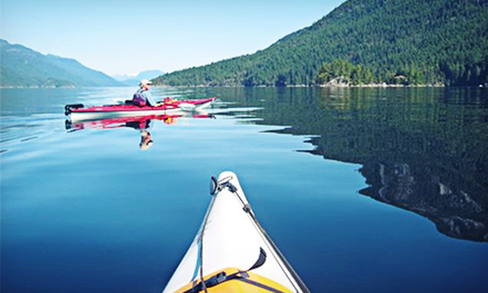 Pedals and Paddles - Sechelt: Two-Hour Guided Kayak Tour for Two, Four, or Six from Pedals and Paddles (Up to 57% Off)