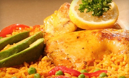 Cuban and Puerto Rican Food and Drinks at Andrés Restaurant (45% Off). Two Options Available.