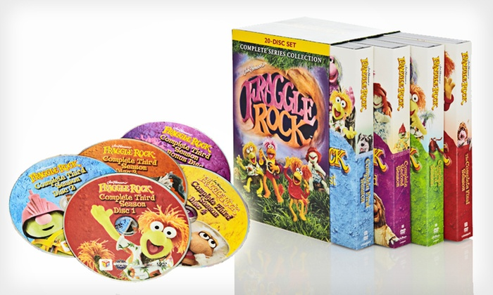"""Fraggle Rock"" Complete Series DVDs: $39 for ""Fraggle Rock: Complete Series Collection"" 20-DVD Set ($99.98 List Price). Free Shipping and Free Returns."