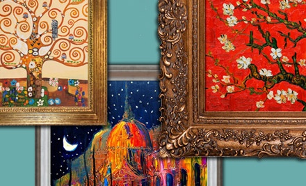 Replica Van Gogh, Monet, Klimt, and More Paintings from overstockArt.com (Up to 61% Off). Three Options Available.