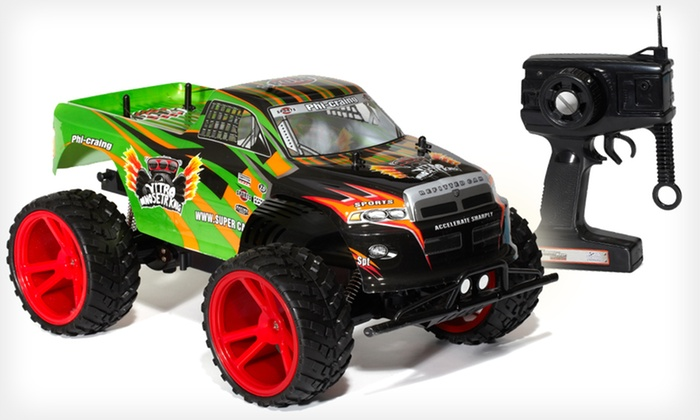 Torque King RC Monster Truck: $59 for a Torque King 1:10-Scale Electric Radio-Controlled Monster Truck ($150 List Price). Free Shipping and Free Returns.
