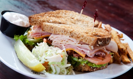 $11 for $20 Worth of Sandwiches and Wraps, or a Five-Smoothie Punch Card at The Green & Grain