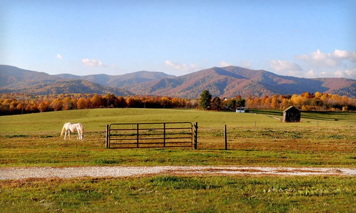 Fairview Bed and Breakfast Estate - Boonsboro: $249 for a Two-Night Stay with Two Massages at Fairview Bed and Breakfast Estate in Amherst, VA (Up to $420 Value)