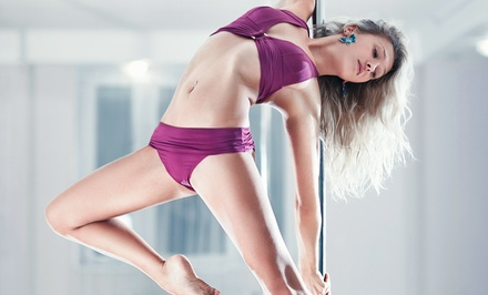 5 or 10 Pole-Dancing Classes or 6-Week Boot-Camp Program at Body In Motion (Up to 73% Off)