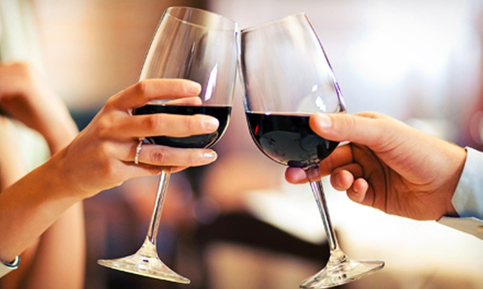 Grape Escape Winery - Pleasantville: Wine Tasting for Two or Four with Take-Home Wineglasses and Bottle of Wine at Grape Escape Winery (Up to Half Off)