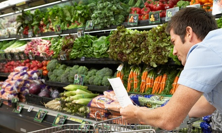 $25 for $40 Worth of Groceries at Stong's Market