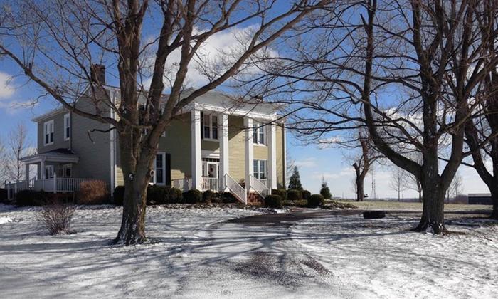 The Farm, LLC - Danville, KY: 2-Night Stay with Breakfast, Appetizer, and Bourbon Flight and Optional Farm Package atThe Farm, LLCinDanville, KY