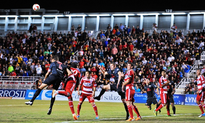 San Antonio Scorpions - Toyota Field: San Antonio Scorpions Soccer Match for Two at Toyota Field on May 3, 10, or 17, or June 7 (Up to 48% Off)