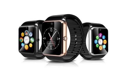 1x oder 2x Smartwatch mit Edelstahl-Gehäuse, 1,54-Zoll-Display, Schritt- und Kalorienzähler inkl. Versand : 18,90 €