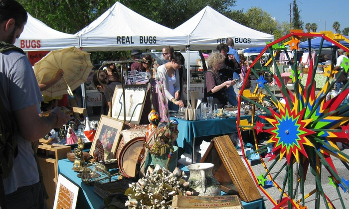 Vintage Market at Pierce College - Warner Center: $22 for an Annual Flea Market Shopping Pass for Two ($44 Value)